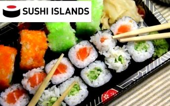 Luxusní TAKE AWAY SUSHI. 48 ks ze Sushi Islands!