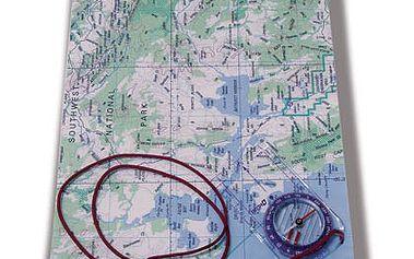 Sea to Summit TPU Guide Map Case Black L - praktické odolné a nepromokavé pouzdro na mapu.