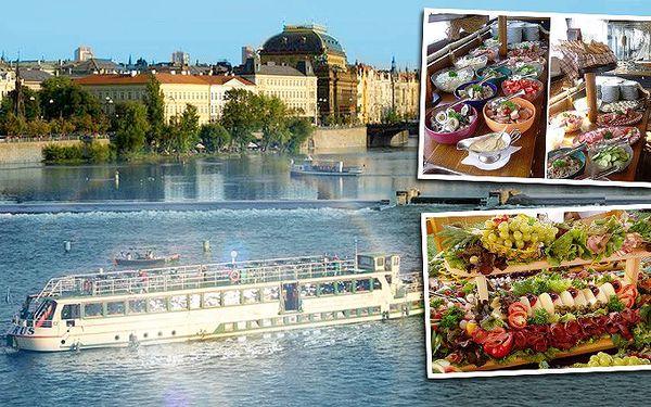 Nádherná 2hodinová plavba po Vltavě s neomezeným bufetem pro 1 osobu