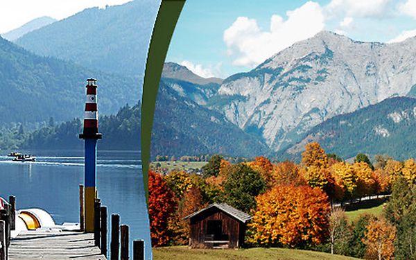 Podzimní pobyt v Alpách městečko Lunz am See – relax v nádherné přírodě a termální solné lázně nedaleko ubytování