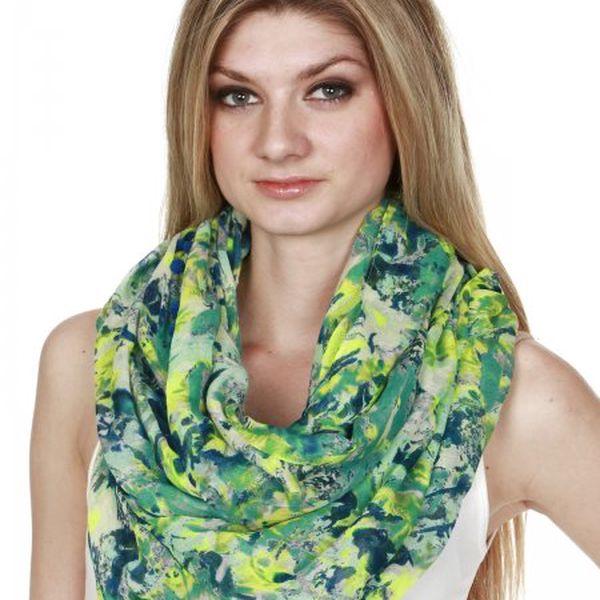 Vzorovaný dámský šátek s.Oliver Snood_60A1