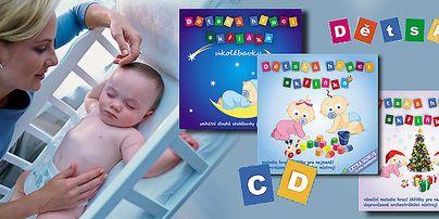 Dětská hrací skříňka pro miminka