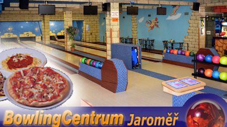Bowling a pizza za 380 Kč! Kredit 500 Kč na dráhy a super večeře!