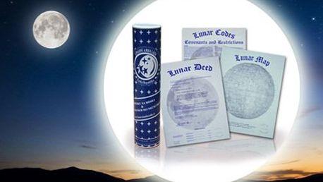 Získejte pozemek na Měsíci se slevou 63 %