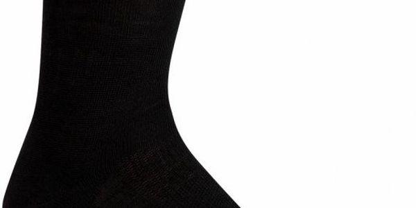 Dámské ponožky Icebreaker Hike Liner Crew W Black L