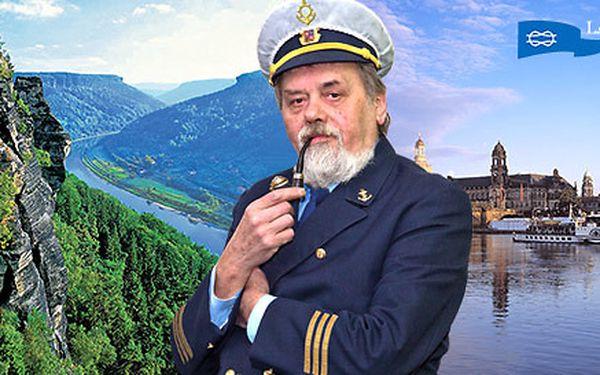 Plavba do Drážďan včetně oběda a večeře na palubě
