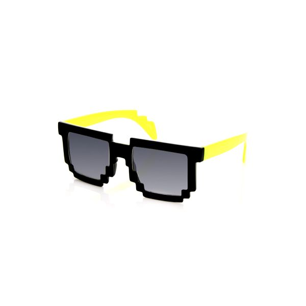 Buďte prudce originální!! Pixelové brýle jako z 80. let za neskutečně nízkou cenu!