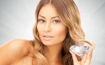 Kosmetika diamantovou mikrodermabrazí a PLAZMA GALVANIC
