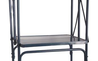 Skládací plechový stolek Petrol