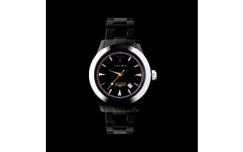 Stylové hodinky TRIWA - Carbon Chrono Black