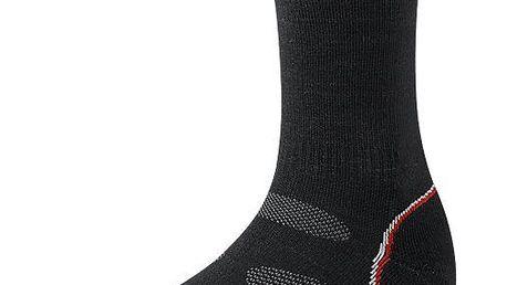 Lehké dámské nízké ponožky SMARTWOOL PhD Outdoor Light Crew Black XL