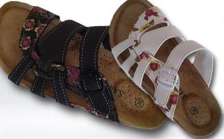 Pohodlné dámské korkové pantofle se slevou a doručením!