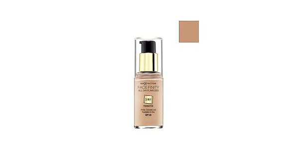 Facefinity 3 in 1 Foundation 75 Golden, make-up 30ml