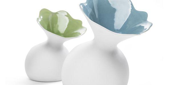 Váza Lily, zelená