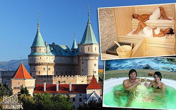 3 dny pro 2 osoby v hotelu Regia na Slovensku s polopenzí