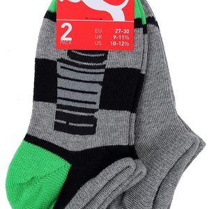 Sada dvou párů kotníkových ponožek Puma