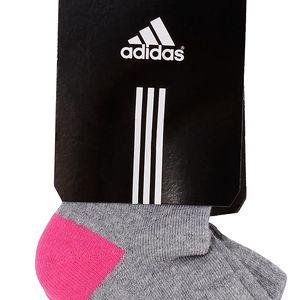 Sada dvou párů kotníkových ponožek Adidas Performance