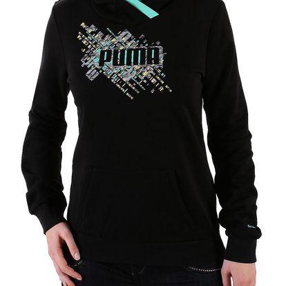 Dívčí mikina Puma s kapucí ideální pro každodenní nošení