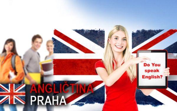 PRAHA! 3měsíční KURZ ANGLIČTINY zahrnující celkem 24 lekcí po 90 minutách za bezkonkurenčních 1490 Kč! Angličtina Praha - s námi se anglicky naučíte! Sleva 65%!