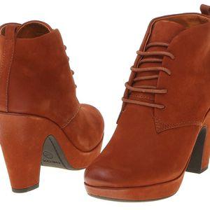 Dámská kotníčková obuv Geox D34L2B_00033_C2021_aw červená