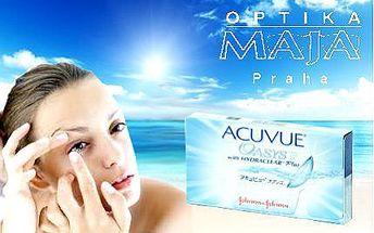 Pár čtrnáctidenních kontaktních čoček Acuvue Oasys