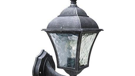 Venkovní nástěnné svítidlo Rabalux Toscana antická stříbrná 8397