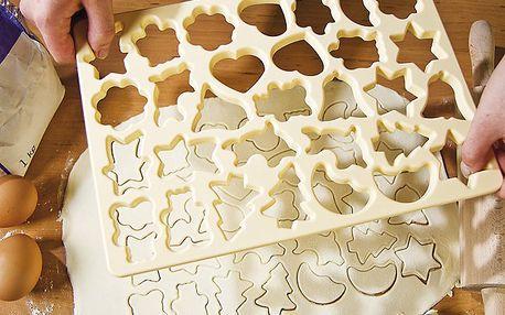 Vykrajovátko na cukroví mix tvarů
