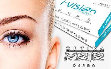 30denní kontaktní čočky značky I-Vision pro citlivé oči