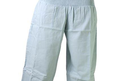 Bavlněné kalhoty Anna - light blue