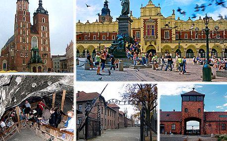 Krakow a Wieliczka alebo Krakow a Oswiencim?