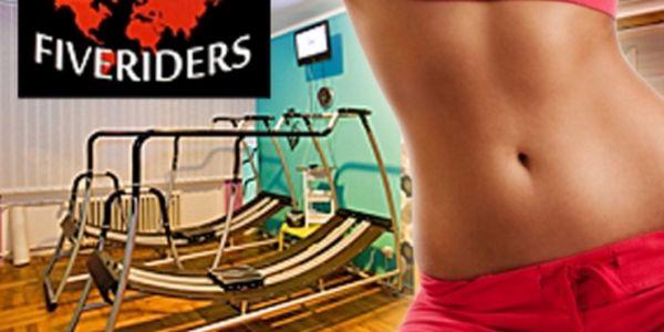 Nový trend účinného cvičení: 30 min. na FIVERIDERS vč. video trenéra. Hubnutí a tvarování těla ve studiu Slim Body kousek od Boby centra!