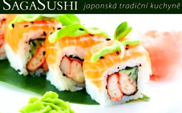 SUSHI menu v ostravské restauraci Sushi Saga!