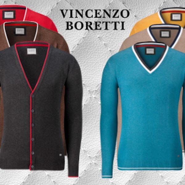 Luxusní svetr Vincenzo Boretti za 790 Kč! Včetně poštovného!