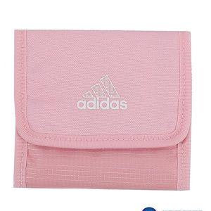 Sportovní peněženka Adidas. Zapínání na suchý zip.