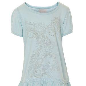 Tričko Nellie ve světle modré barvě s potiskem