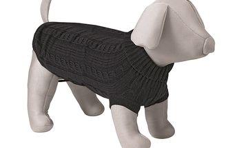 Černý svetr Trixie King of Dogs pro psy