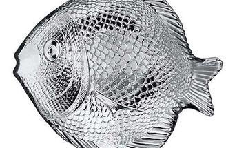 Talíř rybka 2 ks, 19,6 x 16 cm