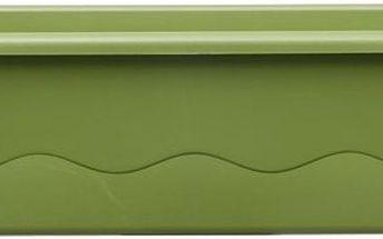 Plastia Samozavlažovací truhlík Mareta 60 cm, zelená