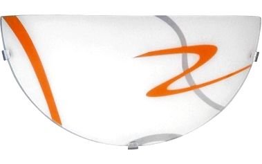 Nástěnné svítidlo Rabalux 1814 Solo/bílá-oranžová