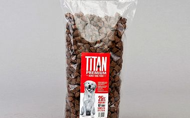 Titan premium krmivo pro dospělé psy, 1kg