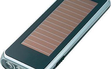 Kapesní svítilna se dvěma způsoby nabíjení - Solární svítilna LED do kapsy