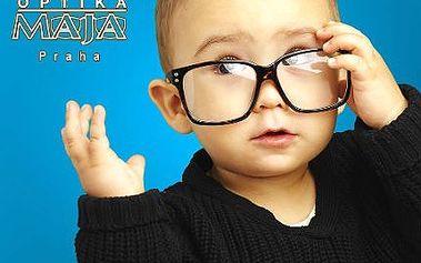 Dětské brýle s polykarbonátovými čočkami se slevou 44 %