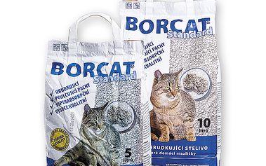 Kočičí stelivo BORCAT Standard objem: 10 l