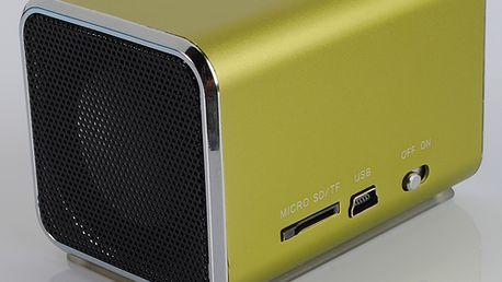 Mini reproduktor na USB, SD karty, 3.5mm Jack a poštovné ZDARMA! - 257