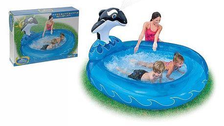 Dětský bazén s kosatkou