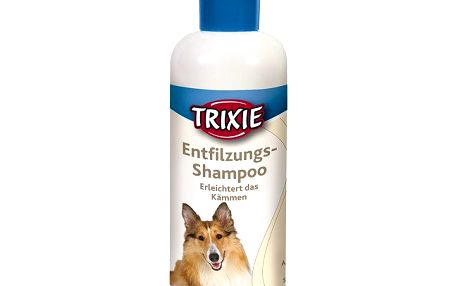 Entfilzung šampon 250 ml TRIXIE - usnadňuje rozčesání dlouhé srsti