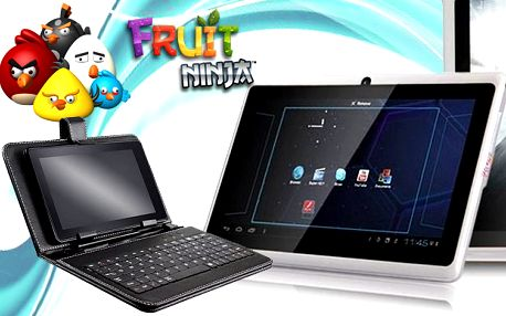 Ultratenký tablet ANGRY BIRDS s Androidem