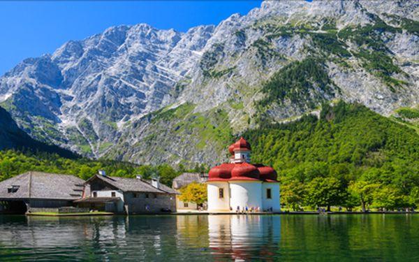 Německo, Berchtesgadenské Alpy s návštěvou Mnichova na 3 dny. Termín 27.9.- 29.9.