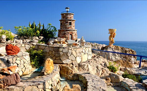 Ostrov Rhodos, letecký zájezd na 6 dní s polopenzí do krásného střediska Kolymbia v termínu 1- 6.10.