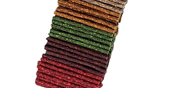 Lisovaná tyčinka směs barev 7-8 mm/12,5 cm bal.100 ks